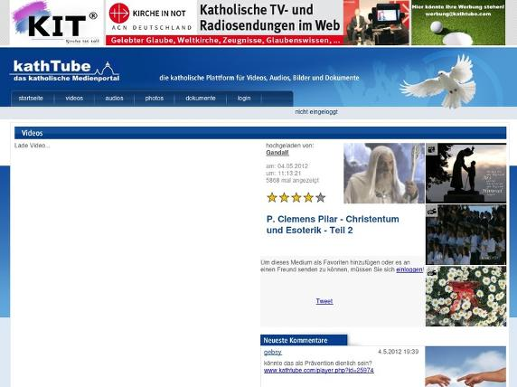 Screenshot von http://www.kathtube.com/player.php?id=26747