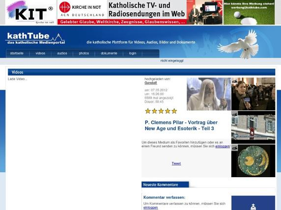 Screenshot von http://www.kathtube.com/player.php?id=26812