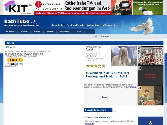 Screenshot von http://www.kathtube.com/player.php?id=26927